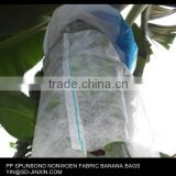 100% pp UV treated nonwoven fabric banana bags,banana sleeve, banana growing protection cover
