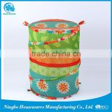 Environmental protection customized laundry basket with cotton handles