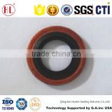 M10 G1/8' M10X1.5 BS a1 standard rubber metal Brass outer cased bonded seal washer