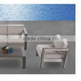 Teresa 2016 hotel garden furniture brushed aluminum pool sofa outdoor lounger                                                                         Quality Choice
