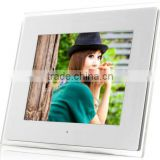 digital photo frame (calendar+clock+timing on/off) good feedback auto rotate digital photo frame