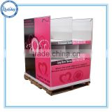 Custom Cardboard Advertising Display Stands,Shop Furniture Garment Display,Clothing Display Rack
