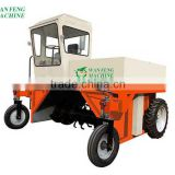 organic fertilizer turning machine , automatic organic fertilizer production line from chicken dung