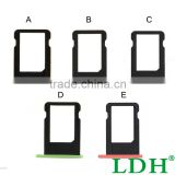 For iPhone 5C 100% Colorful Micro Sim Card Holder Tray Slot Replacement For iPhone 5C Sim Card Slot Card Tray Tarjeta