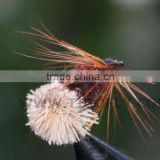 Elk Wing Brown Body White Tail Elk Hair Caddis Muddler Minnow Dry Flies Trout Fly Fishing Lures