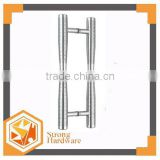 DH-083 SUS304 pulls brass handle , sliding shower round door handles double sided glass metal Door Handle