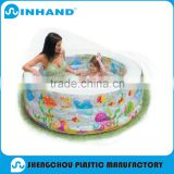 Recreation Family Inflatable Pool Above Ground Jumbo Inflatable Swimming Pool Round Inflatable Pool