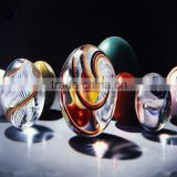 Good quality Solid glass transparent crystal ball or glass coloured crystal ball