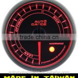 60mm simple function with smoke lens Air / Fuel Ratio gauge/60mm air/fuel ratio tuning gauge