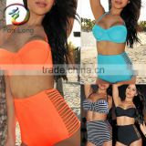 Bandage Bandeau Swimsuit Swimwear Bikini Set two piece