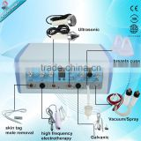 7 In 1 Multifunction High frequency ultrasonic galvanic facial machine with 7 functions for beauty salon and spa useTM-272