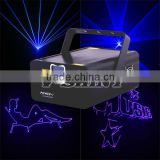 1w blue color animation laser stage lighting projector