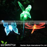 outdoor light , color changing stake light outdoor light led, butterfly bird shape solar lights outdoor
