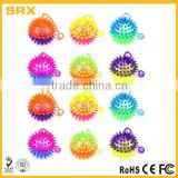 OEM Flashing LED Light Up Dual Color Party Favor Squishy Spiky Toy Yo-Yo Balls