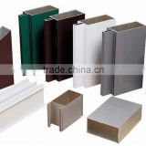 Top quality aluminium extrusion curtain wall profiles quality guaranteed with different sizes