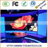 high desity pixel small pitch slim flexible indoor RGB led screen display