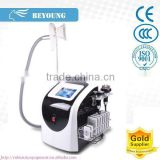Cavitation & Cryo & Vacuum & RF & Laser 5 IN 1 fat removal massage machine / face lifting and wrinkle removal