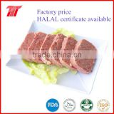 40-90% purity Corned beef canned beef meat Factory price with HALAL KOSHER certificates
