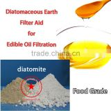 diatomite filter aid for edible oil filtration food grade filter aid