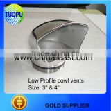 Inquiry about Polished stainless round/teardrop/oval cowl vents ,marie low profile cowl vent,yacht low profile cowl vent