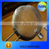china supplier stainless steel oil strainer with handle