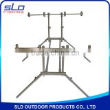 INQUIRY about stainless steel carp fishing rod pod for 4 rods with adjustor legs with carrying bag
