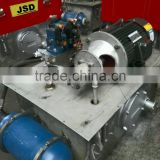 JSD variable displacement hydraulic gear pump station for the middle loading applications