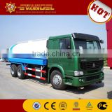 stainless steel water tank truck Hot sale water tank truck price HOWO new water tank truck for sale