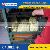 Unique design type used scrap carpet baling machine with manual tie
