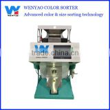 one chute high productivity sparkled kedney beans ccd color sorting machine
