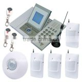 GSM SMS Alarm System 16 wireless zones with LCD screen