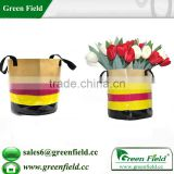 Wholesale hanging felt garden flower pots,home decorative hanging felt garden flower pots