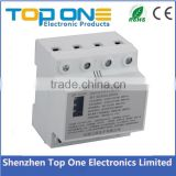 Patent product factory wholesale 72mm width three phase four wire resettable multifunctional under/over voltage surge protector