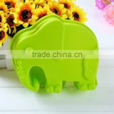 Elephant shape Muffin Sweet Candy Jelly fondant Cake chocolate Mold Silicone tool