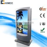 32-65 inch all in one pc no-synchronization ad display tv wifi optional 3g led advertising player double screen advertising