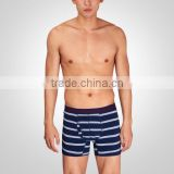 2015 Latest new belted striped mens boxer shorts