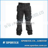 2014 New Design Customized Black Work Pants MZ0082