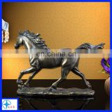 customized resin award lifelike horse trophy for decoration and gift
