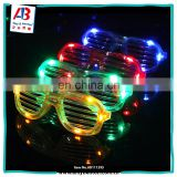 Hot Plastic glow led sunglasses party light up glasses