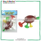 Promotional Plastic Bugle Horn Football Bugle Toy