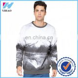 Trade Assurance 2016 Yihao Mens Custom Sports Gym Print Long Sleeve Clothing Tee t shirt Blank