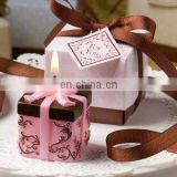 Brown And Pink Gift Box Collection Box Candle Favor