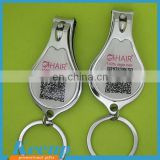 Custom logo round nail clippers for advertising