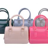 Fashion Candy Color Silicone Jelly Lady Handbag
