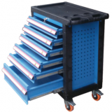 six drawers tool cabinet tool trolley