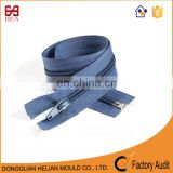 Newest 7# nylon zipper with beautiful fabric tape for outdoor sleeping bags
