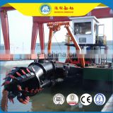 cutter suction dredger specification 12inch