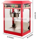 Mobile automatic vending flavored china caramel commercial popcorn machine with cart for sale