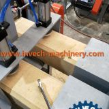 Wood Sawdust Pallet Feet Hot Presser