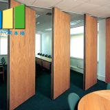 Melamine Finish Auditorium Folding Partition Walls Doors For School Hotel
